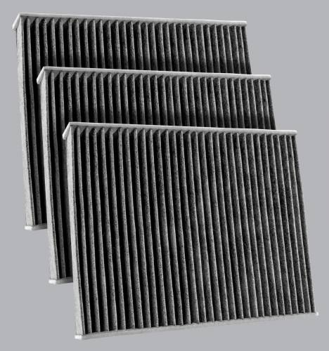 FilterHeads - AQ1259C Cabin Air Filter  - Carbon Media, Absorbs Odors 3PK - Buy 2, Get 1 Free!