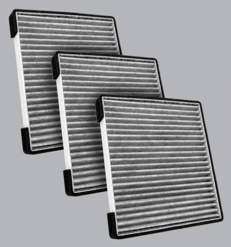 FilterHeads - AQ1271C Cabin Air Filter - Particulate Media 3PK - Buy 2, Get 1 Free!