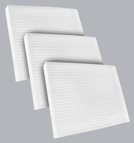 FilterHeads - AQ1258 Cabin Air Filter - Particulate Media 3PK - Buy 2, Get 1 Free!