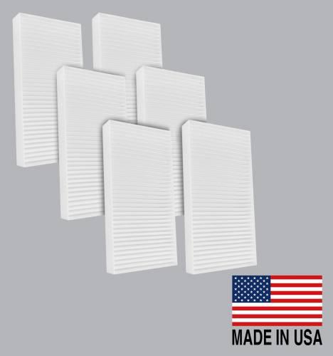 FilterHeads - AQ1040 Cabin Air Filter - Particulate Media 3PK - Buy 2, Get 1 Free!