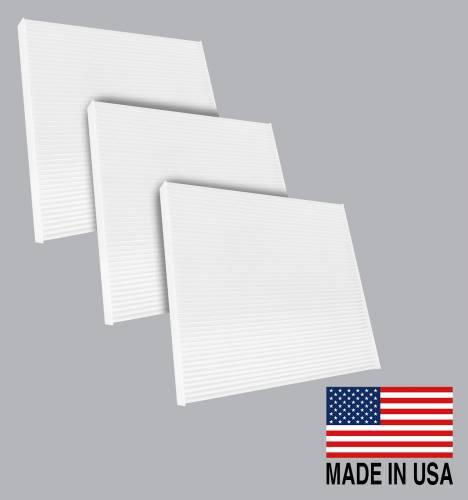 FilterHeads - AQ1042 Cabin Air Filter - Particulate Media 3PK - Buy 2, Get 1 Free!