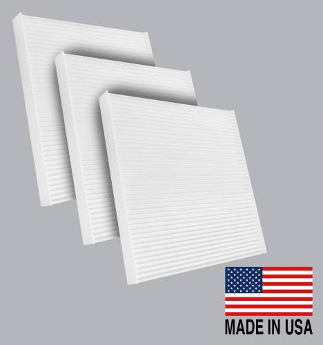 FilterHeads - AQ1045 Cabin Air Filter - Particulate Media 3PK - Buy 2, Get 1 Free!