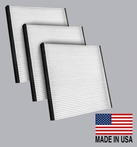 FilterHeads - AQ1048 Cabin Air Filter - Particulate Media 3PK - Buy 2, Get 1 Free!