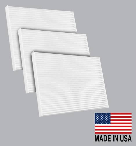 FilterHeads - AQ1114 Cabin Air Filter - Particulate Media 3PK - Buy 2, Get 1 Free!