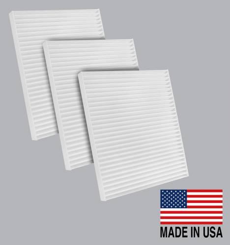 FilterHeads - AQ1118 Cabin Air Filter - Particulate Media 3PK - Buy 2, Get 1 Free!