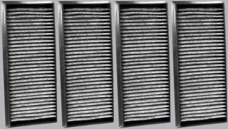 FilterHeads - AQ1218C Cabin Air Filter - Carbon Media, Absorbs Odors - Image 2