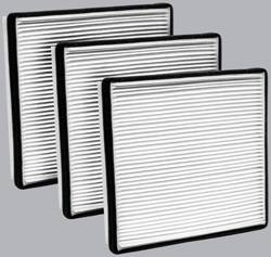 FilterHeads - AQ1009 Cabin Air Filter - Particulate Media 3PK - Buy 2, Get 1 Free!