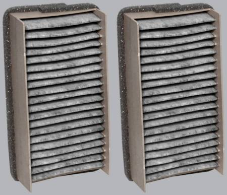 FilterHeads - AQ1010C Cabin Air Filter - Carbon Media, Absorbs Odors 3PK - Buy 2, Get 1 Free! - Image 2