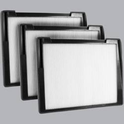 FilterHeads - AQ1013 Cabin Air Filter - Particulate Media 3PK - Buy 2, Get 1 Free! - Image 1