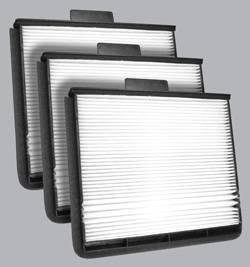 Cabin Air Filters - FilterHeads.com - AQ1018 Cabin Air Filter - Particulate Media 3PK