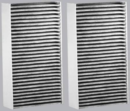 FilterHeads - AQ1040C Cabin Air Filter - Carbon Media, Absorbs Odors 3PK - Buy 2, Get 1 Free! - Image 2