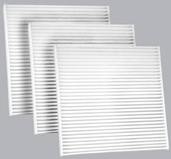 FilterHeads - AQ1045 Cabin Air Filter - Particulate Media 3PK - Buy 2, Get 1 Free! - Image 1