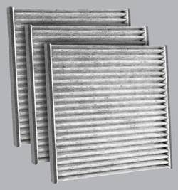 FilterHeads - AQ1048C Cabin Air Filter - Carbon Media, Absorbs Odors 3PK - Buy 2, Get 1 Free!