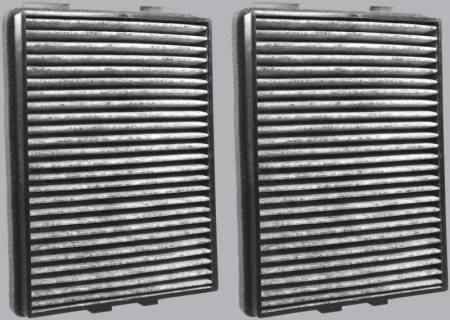 FilterHeads - AQ1055C Cabin Air Filter - Carbon Media, Absorbs Odors 3PK - Buy 2, Get 1 Free! - Image 2