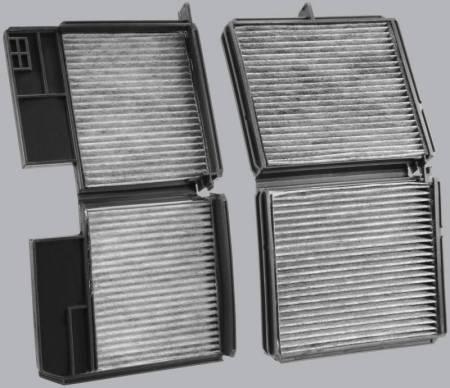 FilterHeads - AQ1061 Cabin Air Filter - Carbon Media, Absorbs Odors 3PK - Buy 2, Get 1 Free! - Image 2
