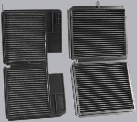 FilterHeads - AQ1061 Cabin Air Filter - Carbon Media, Absorbs Odors 3PK - Buy 2, Get 1 Free! - Image 3