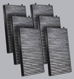 FilterHeads - AQ1066C Cabin Air Filter - Carbon Media, Absorbs Odors 3PK - Buy 2, Get 1 Free! - Image 1