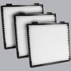 FilterHeads - AQ1073 Cabin Air Filter - Particulate Media 3PK - Buy 2, Get 1 Free! - Image 1