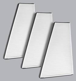 FilterHeads - AQ1100 Cabin Air Filter - Particulate Media 3PK - Buy 2, Get 1 Free! - Image 1