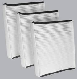 FilterHeads - AQ1101 Cabin Air Filter - Particulate Media 3PK - Buy 2, Get 1 Free! - Image 1