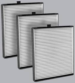 FilterHeads - AQ1108 Cabin Air Filter - Particulate Media 3PK - Buy 2, Get 1 Free! - Image 1