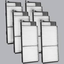 FilterHeads - AQ1117 Cabin Air Filter - Particulate Media 3PK - Buy 2, Get 1 Free! - Image 1