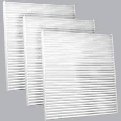 FilterHeads - AQ1118 Cabin Air Filter - Particulate Media 3PK - Buy 2, Get 1 Free! - Image 1