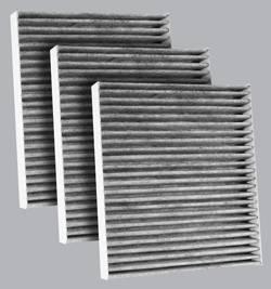 FilterHeads - AQ1119C Cabin Air Filter - Carbon Media, 3PK - Buy 2, Get 1 Free! - Image 1