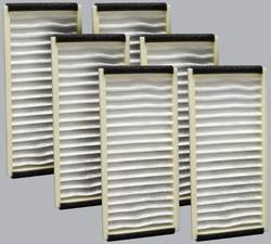FilterHeads - AQ1122 Cabin Air Filter - Particulate Media 3PK - Buy 2, Get 1 Free! - Image 1