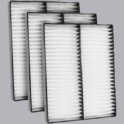 FilterHeads - AQ1124 Cabin Air Filter - Particulate Media 3PK - Buy 2, Get 1 Free! - Image 1