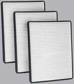 FilterHeads - AQ1130 Cabin Air Filter - Particulate Media 3PK - Buy 2, Get 1 Free! - Image 1