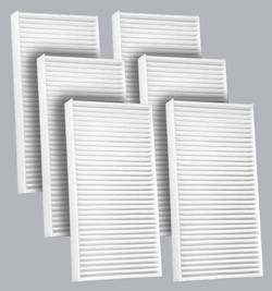 FilterHeads - AQ1131 Cabin Air Filter - Particulate Media 3PK - Buy 2, Get 1 Free! - Image 1