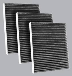FilterHeads - AQ1136C Cabin Air Filter - Carbon Media, Absorbs Odors 3PK - Buy 2, Get 1 Free!