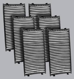 FilterHeads - AQ1147C Cabin Air Filter - Carbon Media, Absorbs Odors 3PK - Buy 2, Get 1 Free! - Image 1