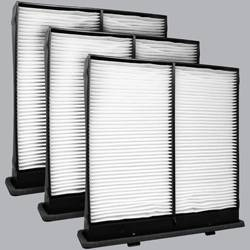 FilterHeads - AQ1149 Cabin Air Filter - Particulate Media 3PK - Buy 2, Get 1 Free! - Image 1