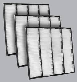 FilterHeads - AQ1150 Cabin Air Filter - Particulate Media 3PK - Buy 2, Get 1 Free! - Image 1