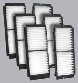 FilterHeads - AQ1151 Cabin Air Filter - Particulate Media 3PK - Buy 2, Get 1 Free! - Image 1
