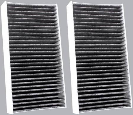 FilterHeads - AQ1180C Cabin Air Filter - Carbon Media, Absorbs Odors 3PK - Buy 2, Get 1 Free! - Image 2