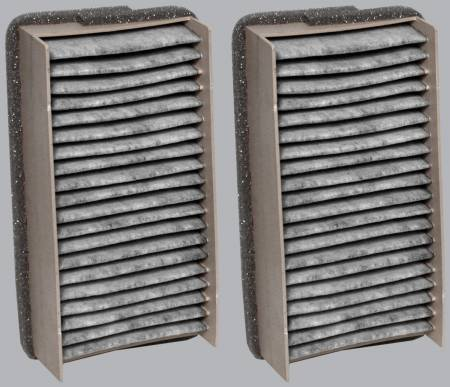 FilterHeads - AQ1010C Cabin Air Filter - Carbon Media, Absorbs Odors - Image 2