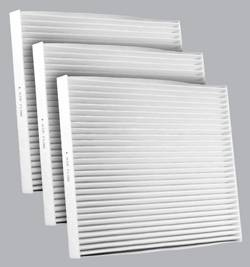FilterHeads - AQ1191 Cabin Air Filter - Particulate Media 3PK - Buy 2, Get 1 Free! - Image 1