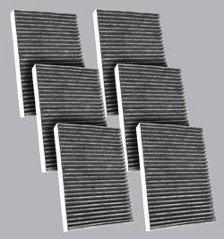 FilterHeads - AQ1195C Cabin Air Filter - Carbon Media, Absorbs Odors 3PK - Buy 2, Get 1 Free! - Image 1