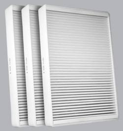 FilterHeads - AQ1202 Cabin Air Filter - Particulate Media 3PK - Buy 2, Get 1 Free! - Image 1