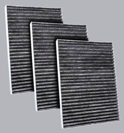 FilterHeads - AQ1205C Cabin Air Filter - Carbon Media, Absorbs Odors 3PK - Buy 2, Get 1 Free! - Image 1