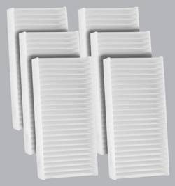 FilterHeads - AQ1229 Cabin Air Filter - Particulate Media 3PK - Buy 2, Get 1 Free! - Image 1