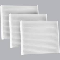 FilterHeads - AQ1249 Cabin Air Filter - Particulate Media 3PK - Buy 2, Get 1 Free! - Image 1