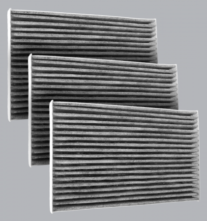 Chevrolet Corvette - Chevrolet Corvette 2009 - FilterHeads - AQ1172C Cabin Air Filter - Carbon Media, Absorbs Odors 3PK - Buy 2, Get 1 Free!