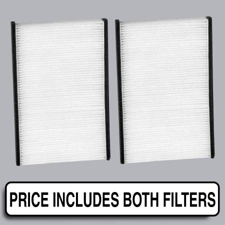 Acura RL - Acura RL 2001 - FilterHeads - AQ1006 Cabin Air Filter - Particulate Media
