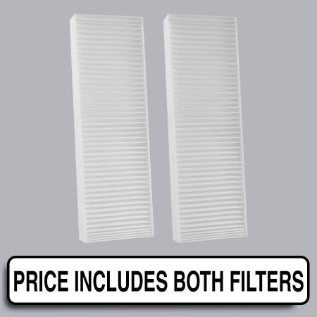 Cabin Air Filter - FilterHeads - AQ1007 Cabin Air Filter - Particulate Media