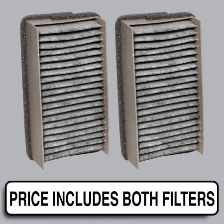 Cabin Air Filter - FilterHeads - AQ1010C Cabin Air Filter - Carbon Media, Absorbs Odors