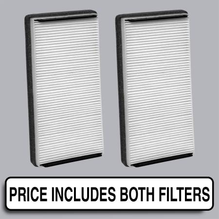 Mercedes-Benz S430 - Mercedes-Benz S430 2000 - FilterHeads - AQ1025 Cabin Air Filter - Particulate Media